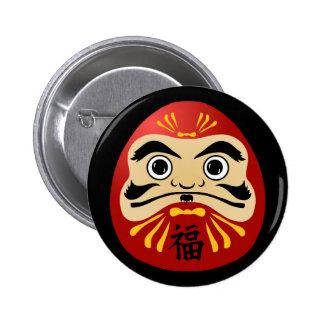 Daruma round button 2 inch round button
