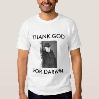 darwin1, THANK GOD, FOR DARWIN Tee Shirt