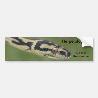 DARWIN2, Herpetologists , Do it in the summer Bumper Sticker