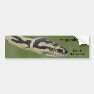 DARWIN2, Herpetologists , Do it in the summer Bumper Sticker