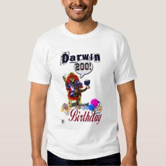 darwin 200th birthday anniversary t shirt