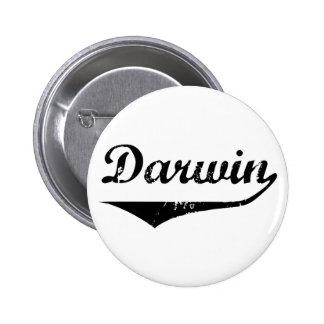 Darwin 6 Cm Round Badge