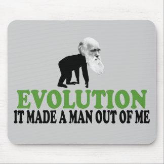 Darwin evolution mouse pad