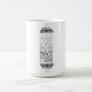 Darwin Evolution Quote Coffee Mug