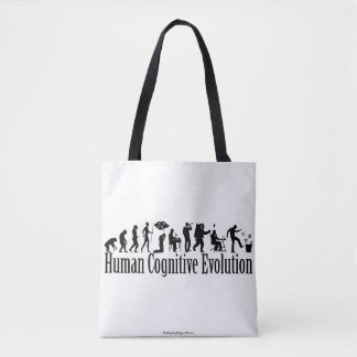 Darwin Evolution Tote Bag