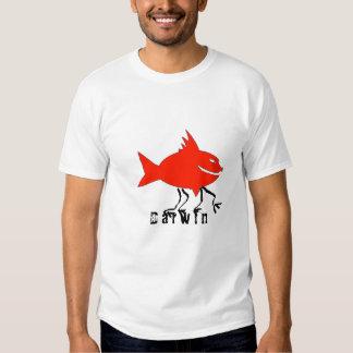 Darwin fish t-shirts