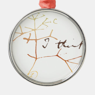 Darwin, I think tree of life Christmas Ornament