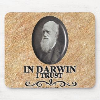 DARWIN I TRUST MOUSE PADS