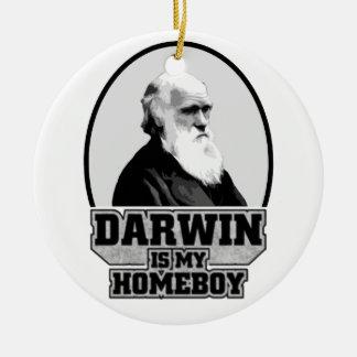 Darwin Is My Homeboy Christmas Ornament