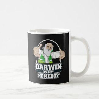Darwin Is My Homeboy (Full Color) Basic White Mug