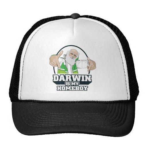 Darwin Is My Homeboy (Full Color) Trucker Hats