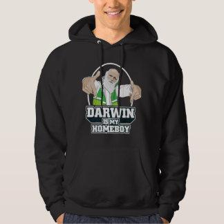 Darwin Is My Homeboy (Full Color) Hoodie