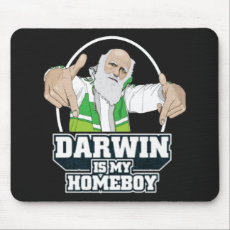 Darwin Is My Homeboy (Full Color) Mouse Mat