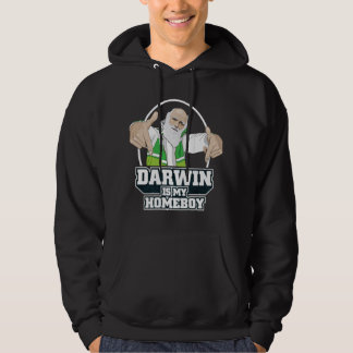 Darwin Is My Homeboy (Full Color) Pullover