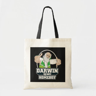 Darwin Is My Homeboy (Full Color) Tote Bag