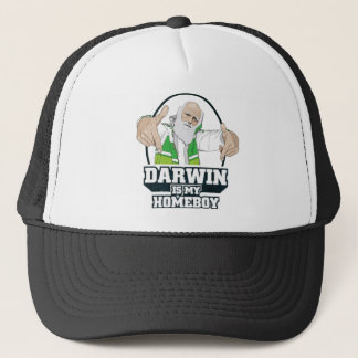 Darwin Is My Homeboy (Full Color) Trucker Hat