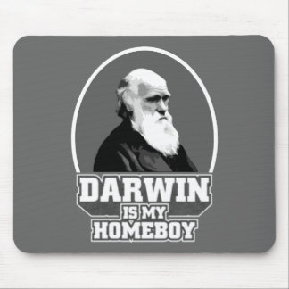 Darwin Is My Homeboy Mouse Mat