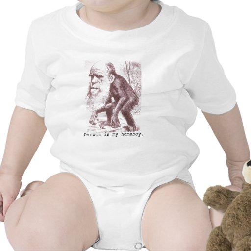 Darwin is my homeboy bodysuit