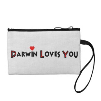Darwin Loves You Coin Wallet