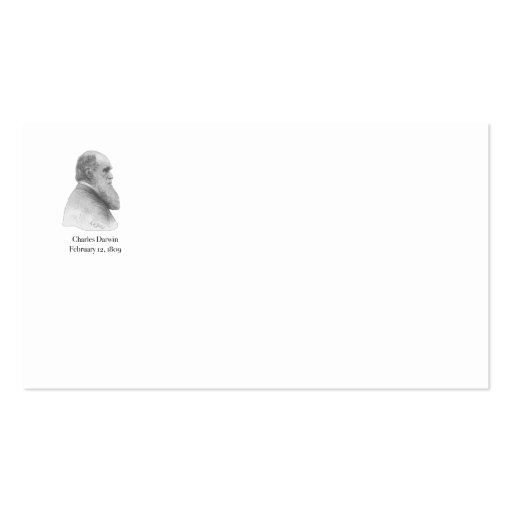 Darwin Pack Of Standard Business Cards