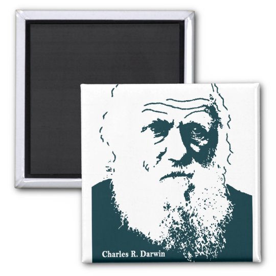 Darwin Picture. Magnet