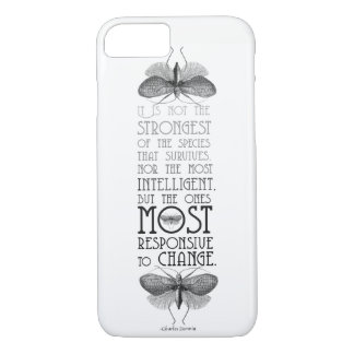 Darwin Quote iPhone 8/7 Case