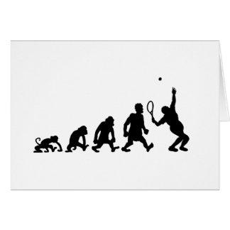 darwin tennis greeting card