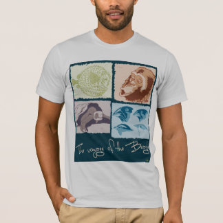 Darwin, The Voyage of the Beagle T-Shirt