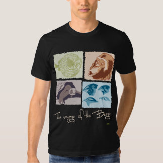 Darwin, The Voyage of the Beagle Tee Shirts