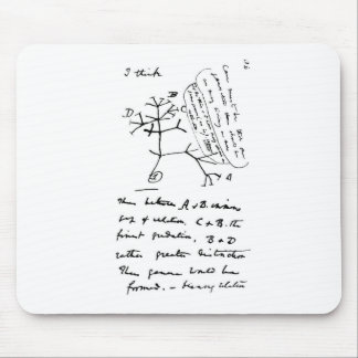 Darwin Tree Mouse Mat