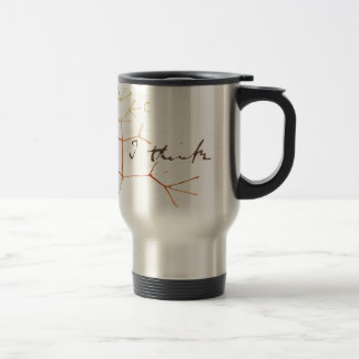 Darwin tree of life: I think Travel Mug