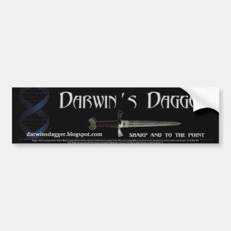 Darwin's Dagger Bumper Sticker Car Bumper Sticker