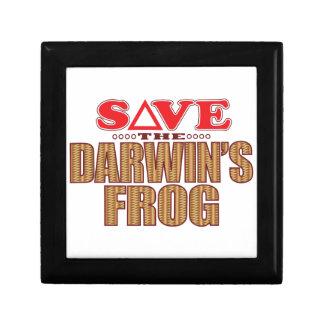 Darwins Frog Save Gift Box