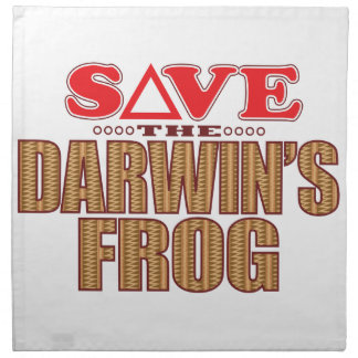 Darwins Frog Save Napkin