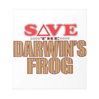 Darwins Frog Save Notepad