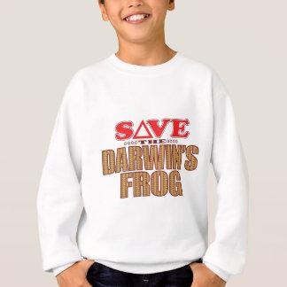 Darwins Frog Save Sweatshirt