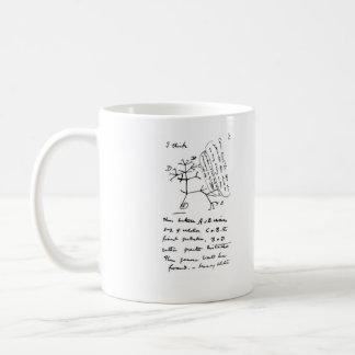 Darwin's 'Tree of Life' Sketch Mug