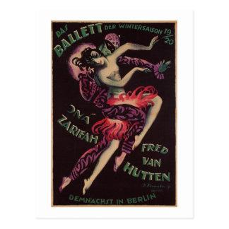Das Ballett The Ballet Josef Fenneker Postcards