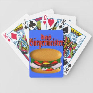 das Burgermeister Bicycle Cards