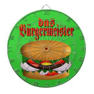 das Burgermeister Dart Board