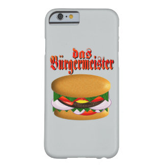 das Burgermeister iPhone 6 Case Barely There iPhone 6 Case