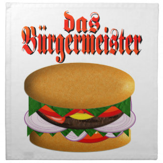 das Burgermeister Napkins