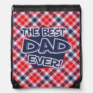 Das Father's Day Drawstring Backpack