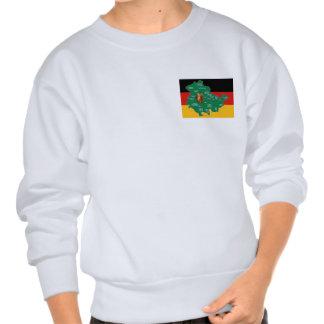 Das grüne Herz Deutschlands Sweater