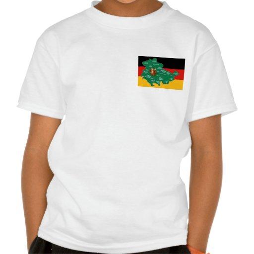 Das grüne Herz Deutschlands Tshirt