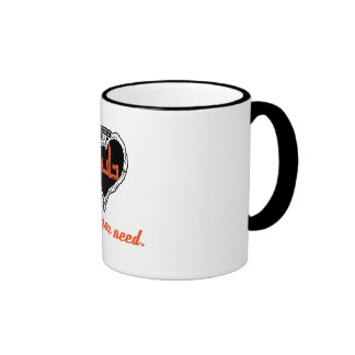 Das Splitty dub is all you need mug Ringer Mug