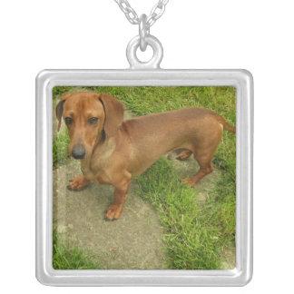 Daschund Dog Necklace