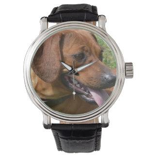 Daschund Dog Wristwatch