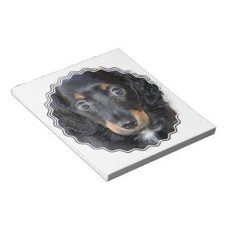 Daschund Puppy Dog Notepad