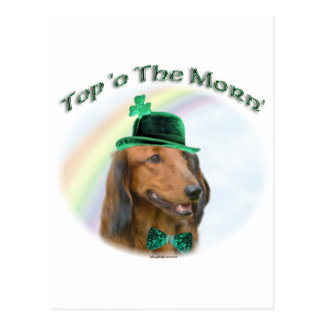 Daschund Top of the Morn Post Cards